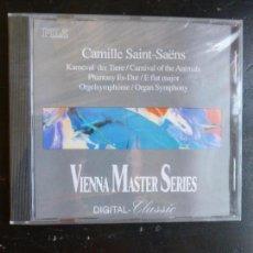 CDs de Música: VIENA MASTER SERIES. CAMILLE SAINT SAENS 1991 ¡A ESTRENAR!. Lote 88995068