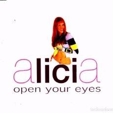 CDs de Música: ALICIA - OPEN YOUR EYES CD SINGLE 6 TEMAS 2000. Lote 89059260