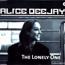 CDs de Musique: ALICE DEEJAY - THE LONELY ONE CD SINGLE 5 TEMAS 2000. Lote 89063484