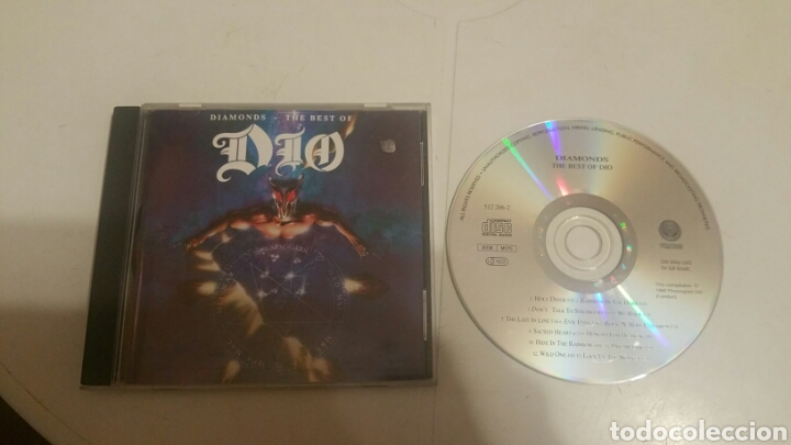 DIO THE BEST OF (Música - CD's Rock)