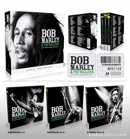 BOB MARLEY & THE WAILERS * BOX SET 6XCD *21ST CENTURY REMASTERED * DIGIPACK *CAJA PRECINTADA! (Música - CD's Reggae)