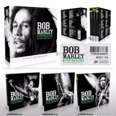 CDs de Música: BOB MARLEY & THE WAILERS * BOX SET 6XCD *21ST CENTURY REMASTERED * DIGIPACK *CAJA PRECINTADA!. Lote 128949700