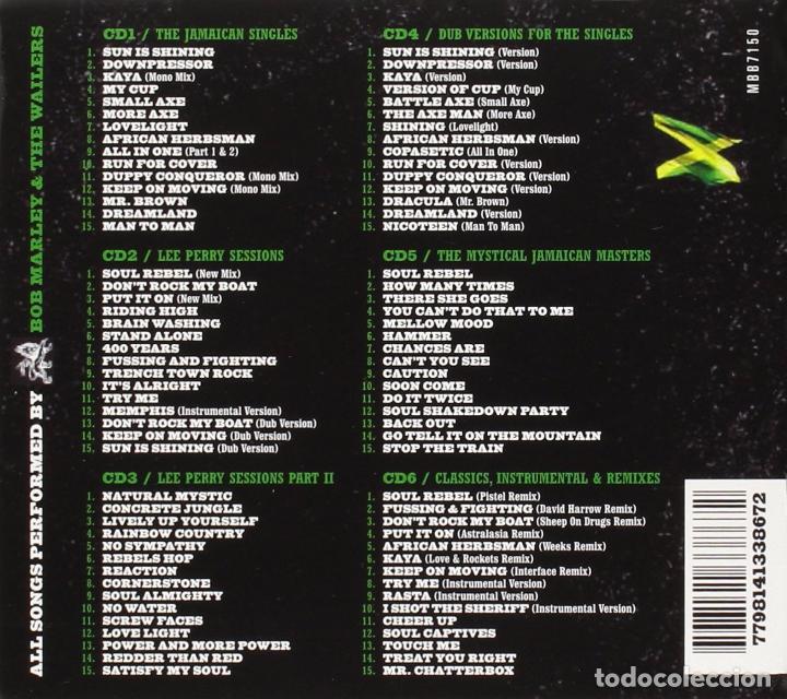 CDs de Música: BOB MARLEY & THE WAILERS * BOX SET 6xCD *21st Century Remastered * DIGIPACK *Caja precintada! - Foto 2 - 128949700