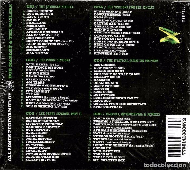 CDs de Música: BOB MARLEY & THE WAILERS * BOX SET 6xCD *21st Century Remastered * DIGIPACK *Caja precintada! - Foto 4 - 128949700