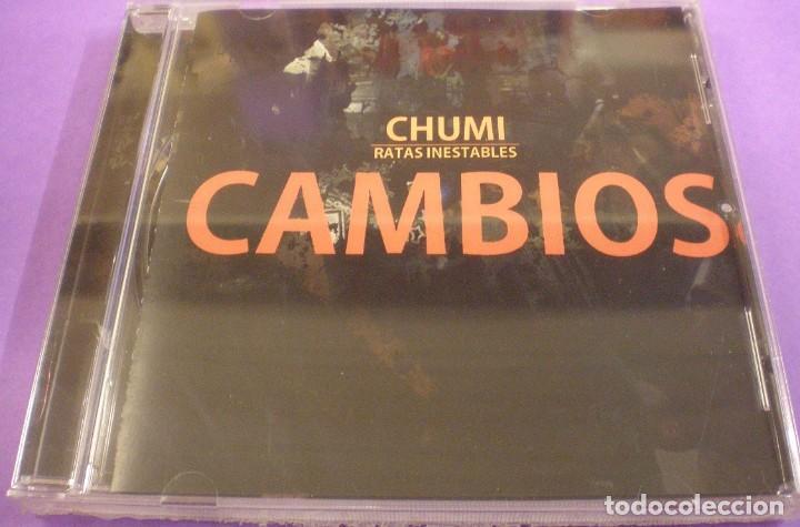 CHUMI / RATAS INESTABLES - CAMBIOS - CD PRECINTADO (Música - CD's Hip hop)