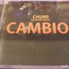 CDs de Música: CHUMI / RATAS INESTABLES - CAMBIOS - CD PRECINTADO. Lote 89088992
