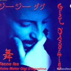 CDs de Musique: GIGI D'AGOSTINO - TECNO FES CD SINGLE 4 TEMAS EN CAJA 2000. Lote 89168436