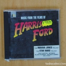 CDs de Música: VARIOS - MUSIC FROM THE FILMS OF HARRISON FORD - INDIANA JONES / STAR WARS - CD. Lote 89187458