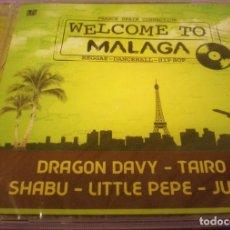 CDs de Música: WELCOME TO MALAGA / DRAGON DAVY, TAIRO, SHABU, LITTLE PEPE, JUHO - CD PRECINTADO.. Lote 89194480