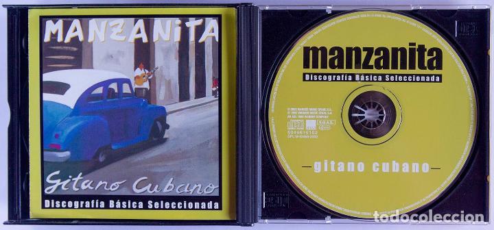 CDs de Música: CD - MANZANITA - CAJA CON 3 CDS - POR TU AUSENCIA / DÍMELO / GITANO CUBANO - DESCATALOGADO - Foto 4 - 89196368