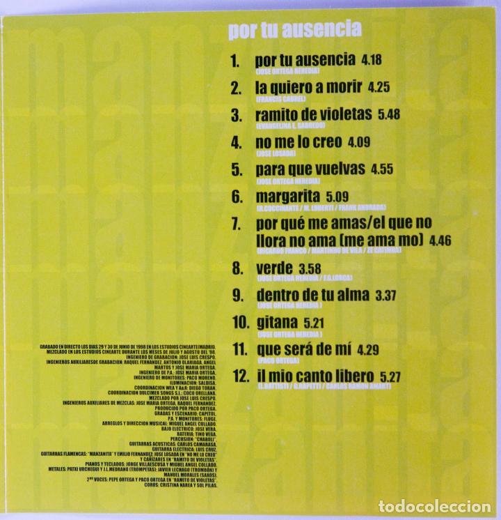 CDs de Música: CD - MANZANITA - CAJA CON 3 CDS - POR TU AUSENCIA / DÍMELO / GITANO CUBANO - DESCATALOGADO - Foto 5 - 89196368