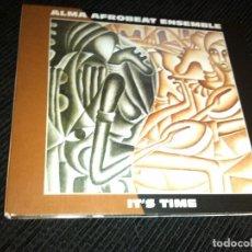 CDs de Música: ALMA AFROBEAT ENSEMBLE - IT'S TIME (CD, ALBUM) . Lote 89218416