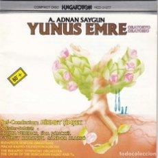 CDs de Música: AHMED ADNAN SAYGUN. ORATORIO DE YUNUS EMRE. TURQUIA 1989. Lote 89232760