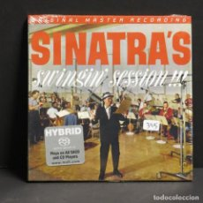 CDs de Música: FRANK SINATRA - SWINGING SESSION. LIMITED EDITION. CD SEALED. ORIGINAL MASTER RECORDINGS (BRD). Lote 89278532