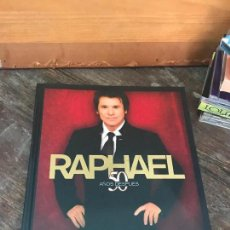 CDs de Música: RAPHAEL ,50 AÑOS DESPUES, LIBRO DELUXE CD MAS DVD - COMPLETO Y COMO NUEVO. Lote 89290552