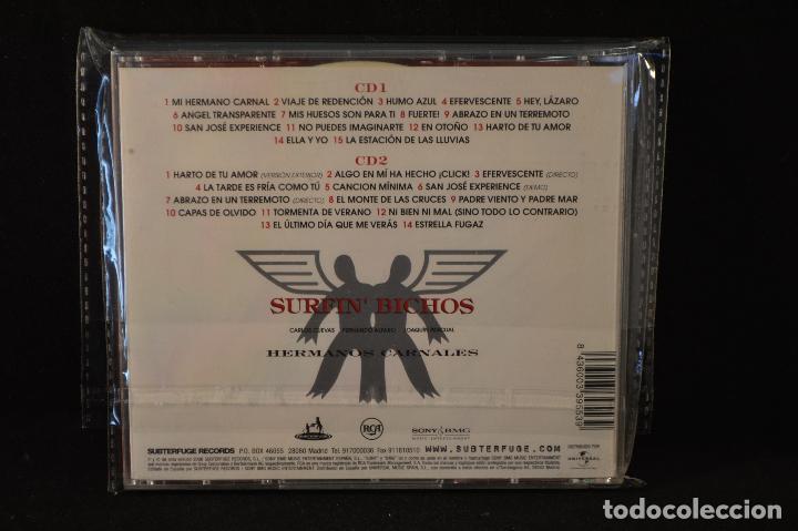 CDs de Música: SURFIN BICHOS - HERMANOS CARNALES - 2 CD - Foto 2 - 89297276