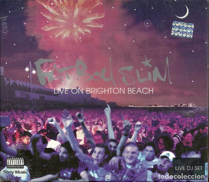 CD FATBOY SLIM-LIVE ON BRIGHTON BEACH.2002. (Música - CD's Techno)
