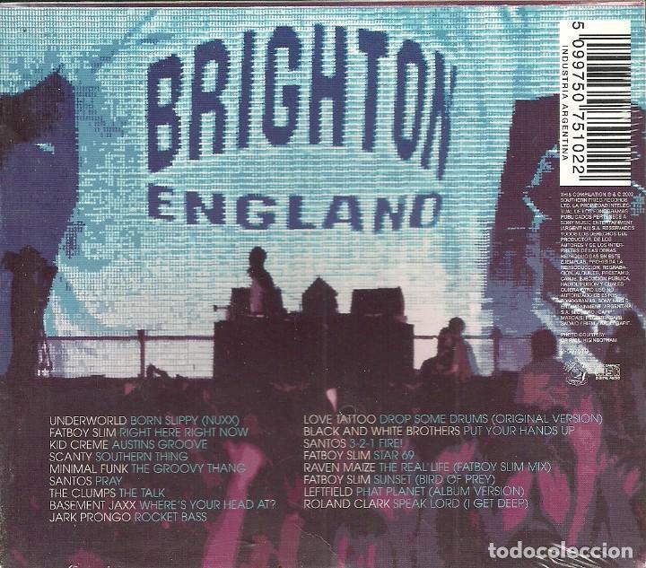 CDs de Música: CD Fatboy Slim-Live On Brighton Beach.2002. - Foto 2 - 89297944