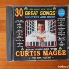 CDs de Música: CD CURTIS MAGEE - 30 GREAT SONGS - THE MAN FOR ME (Y6). Lote 89346536