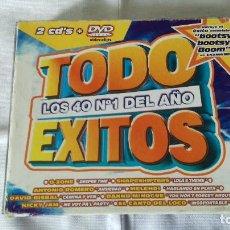 CDs de Música: 24-CD TODO EXITOS , 2 CD + DVD,. Lote 89398612