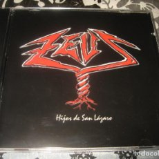 CDs de Música: CD ZEUS HIJOS DE SÁN LÁZARO , CHIP RECORDS CD001 AÑO 2000 RARE SPANISH HEAVY. Lote 89445832