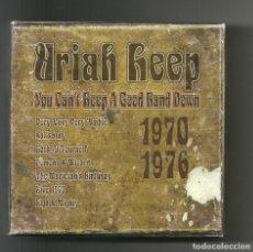 CDs de Música: URIAH HEEP. YOU CAN'T KEEP A GOOD BAND DOWN (7 CDS BOX SET 2002 ). Lote 89453540