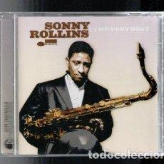 CDs de Música: SONNY ROLLINS: THE VERY BEST. . Lote 89479904