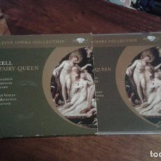 CDs de Música: PURCELL. THE FAIRY QUEEN. 2CD'S. Lote 89519252
