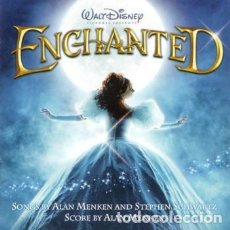 CDs de Música: ENCHANTED O.S.T. WALT DISNEY (CD) EDIC. EUROPEA 2007 - NUEVO!!. Lote 89578792