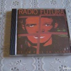 CDs de Música: CD RADIO FUTURA. DE UN PAÍS EN LLAMAS.. Lote 89584588