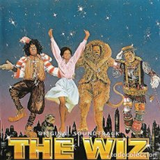 CDs de Música: MICHAEL JACKSON, DIANA ROSS - THE WIZ (REMASTERIZADO) (DOBLE CD) 1998 - PRACTICAMENTE NUEVO!!. Lote 89589252