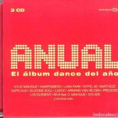 CDs de Música: ANUAL EL ALBUM DANCE DEL AÑO 2002 3CDS. Lote 89591136