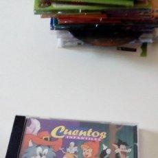 CDs de Música: BAL-4 CD CUENTOS INFANTILES EL GATO CON BOTAS CAPERUCITA ROJA . Lote 89605244