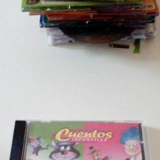 CDs de Música: BAL-4 CD CUENTOS INFANTILES EL PASTOR MENTIROSO GULLIVER BARBA AZUL . Lote 89605340