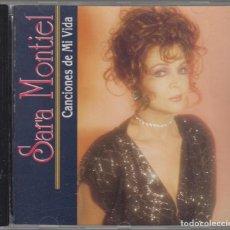 CDs de Música: SARA MONTIEL CD CANCIONES DE MI VIDA 1990 EDICIÓN USA. Lote 89610624