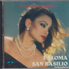 CDs de Música: PALOMA SAN BASILIO CD 12 GRANDES ÉXITOS 1989 CAPITOL USA. Lote 89611468