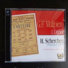 CDs de Música: L'ORFEIDE TRILOGIE MALIPIERO SCHERCHEN 1996 SACEM 2CD. Lote 234493145