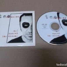 CDs de Música: TEO CARDALDA (CD-SN) ASI MUEREN LAS DIOSAS +1 TRACK AÑO 1997 – EDICION PROMOCIONAL. Lote 89680748