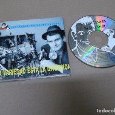 CDs de Música: UN PINGÜINO EN MI ASCENSOR (CD-SN) EN LA VARIEDAD ESTA LA DIVERSION +2 TRACKS AÑO 1993. Lote 89681652