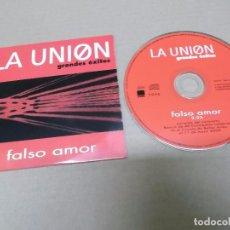 CDs de Música: LA UNION (CD-SN) FALSO AMOR AÑO 2000 - PROMOCIONAL. Lote 89681880