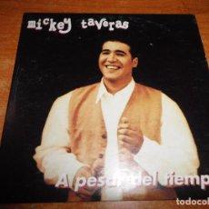 CDs de Música: MICKEY TAVERAS A PESAR DEL TIEMPO CD SINGLE PROMOCIONAL DE CARTON 1997 3 TEMAS. Lote 89774502