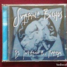 CDs de Música: SURFIN' BICHOS-EL INFIERNO B. RAREZAS (CD. LIMBO STARR, RCA. 1996) FERNANDO ALFARO. Lote 89824092
