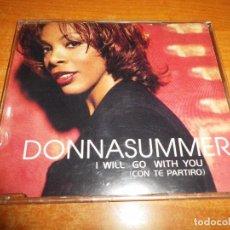 CDs de Música: DONNA SUMMER I WILL GO WITH YOU CD MAXI SINGLE 1999 AUSTRIA PORTADA DE PLASTICO CONTIENE 4 TEMAS. Lote 89849984
