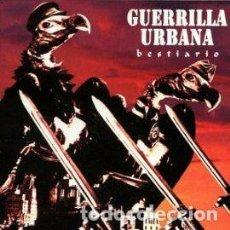 CDs de Música: GUERRILLA URBANA - BESTIARIO -PUNK DISCOS SUICIDAS. Lote 89862316