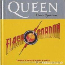 CDs de Música: QUEEN - FLASH GORDON O.S.T - REMASTERIZADO, EDICIÓN LIMITADA LIBRO EDICIÓN ESPAÑOLA (2008). Lote 89873132