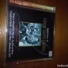 CDs de Música: SELECTION OF LOUIS ARMSTRONG. DOBLE CD. C4CD. Lote 89882920