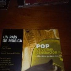 CDs de Música: POP DE ÚLTIMA GENERACIÓN II. C5CD. Lote 89985928