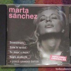 CDs de Música: MARTA SANCHEZ (DESESPERADA Y OTROS GRANDES EXITOS) CD 2002. Lote 90017396