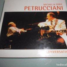 CDs de Música: MICHEL ET TONY PETRUCCIANI - CONVERSATION - CD 2001. Lote 90051564