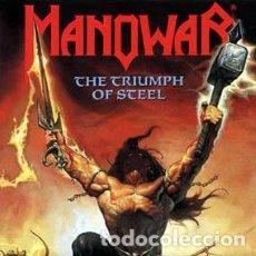 CDs de Música: MANOWAR - TRIUMPH OF STEEL. Lote 90079912